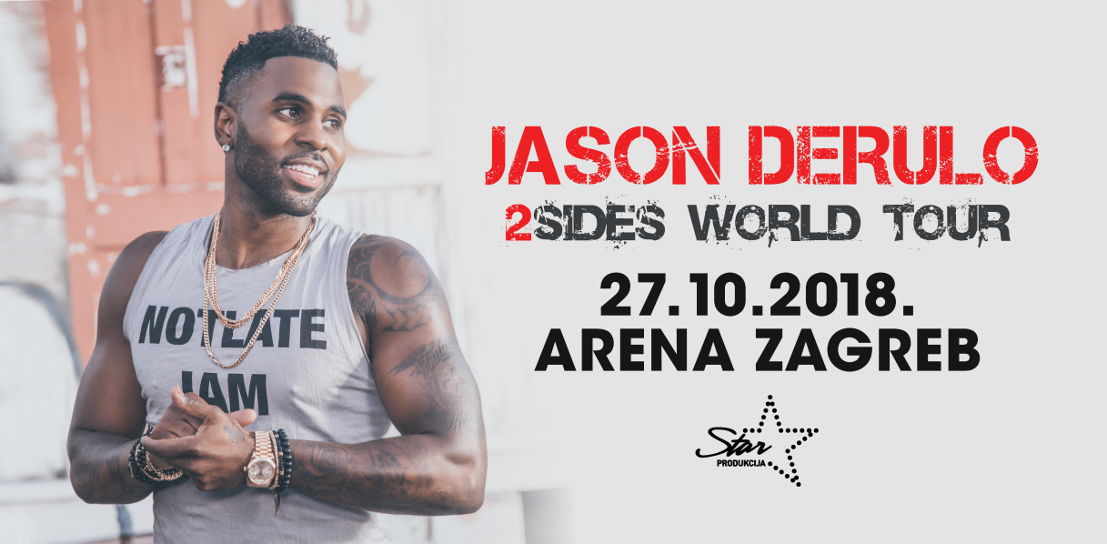 Jason Derulo u Areni Zagreb 27.10.2018.